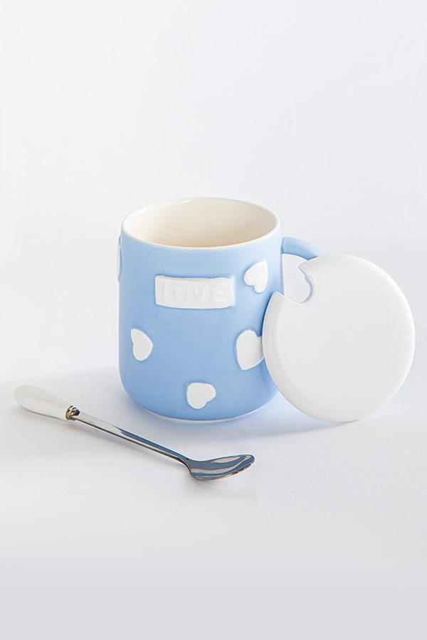 Love In The Air Mug In Blue thumbnail
