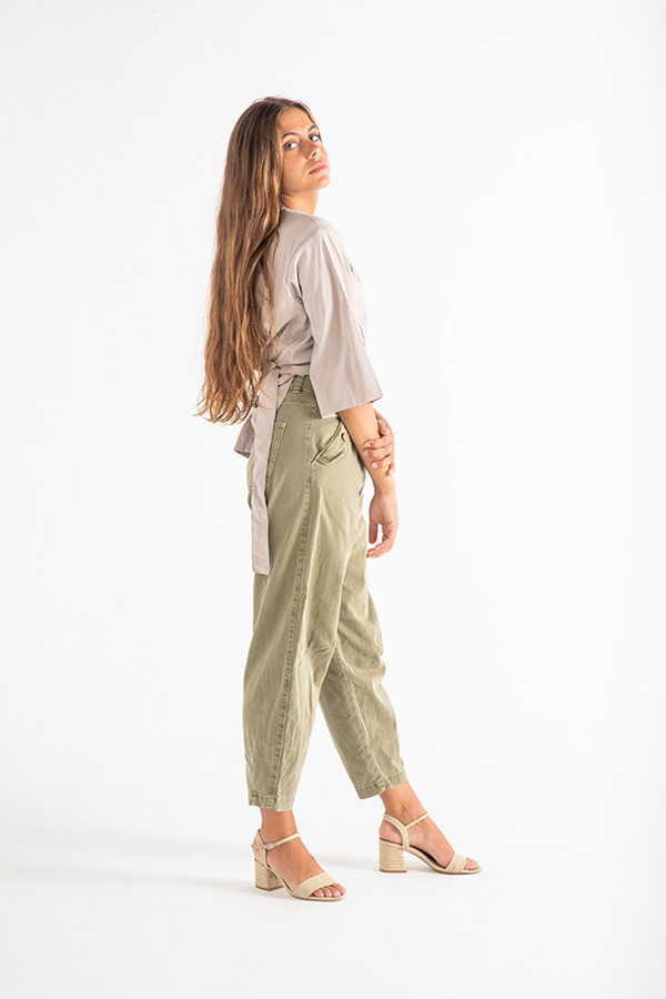The Edgy Top In Beige thumbnail